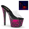 SKY-301-5 Clear/Neon Hot Pink